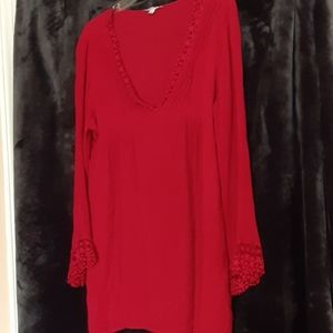 Jodifl Red Tunic